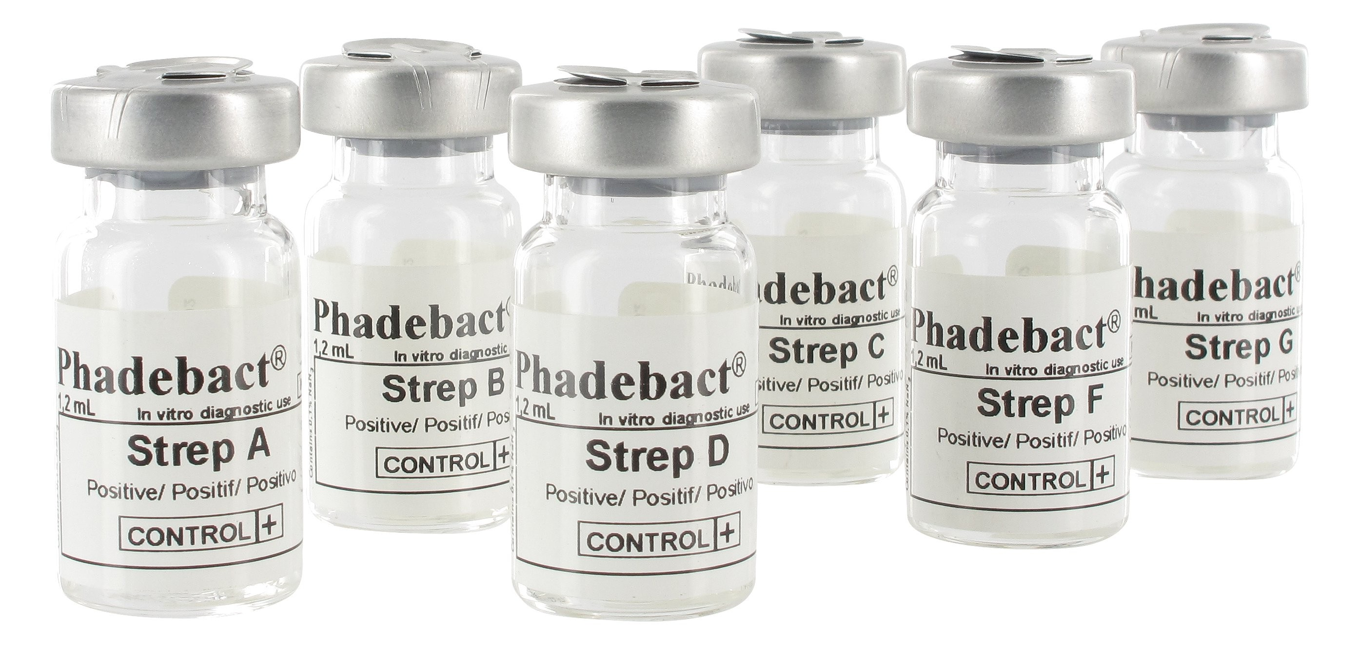 Phadebact Strep Positive Controls
